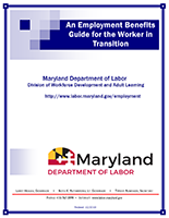 An Employment Benefits Guide for the Worker in Transition